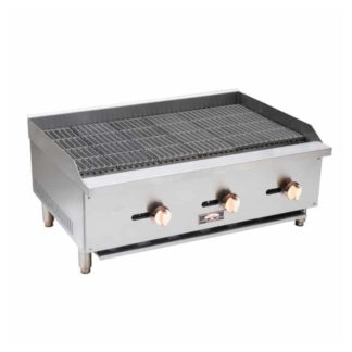 Copper Beech Gas Countertop Charbroiler