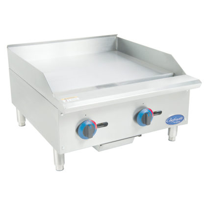 "Globe C24GG Chefmate™ 24"" Gas Griddle"