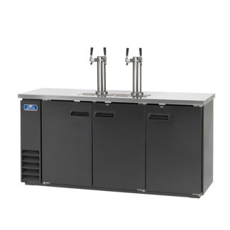 Arctic Air ADD72R-2 Direct Draw Draft Beer Cooler/Dispenser