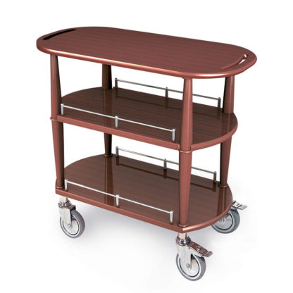 Lakeside 70531 Serving Cart-Spice