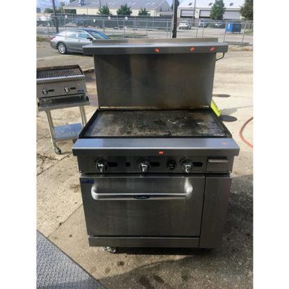 "2017 Atosa 36"" Range 36"" Griddle 26-1/2"" Oven"