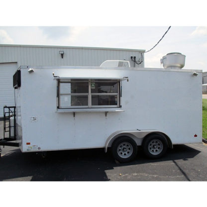 2017 Universal 8' x 16' Concession Trailer