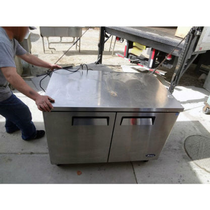 Atosa 2-Door Worktop Refrigerator
