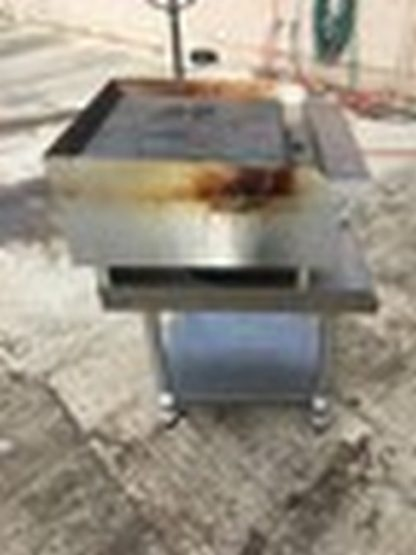 "Atosa 24"" Radiant Charbroiler w/ Equip. Stand view 1"