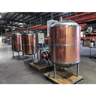 Extract 8-Barrel Brewing System