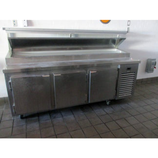 Kairak KBP-91S 3-Door Food Prep Table