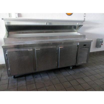 Kairak KBP-91S 3-Door Food Prep Table