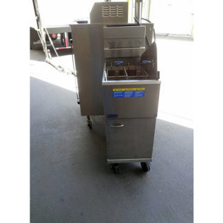 Pitco 42lb Natural Gas Fryer