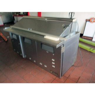 True TSSU-72-30MB 3 Door Prep Table
