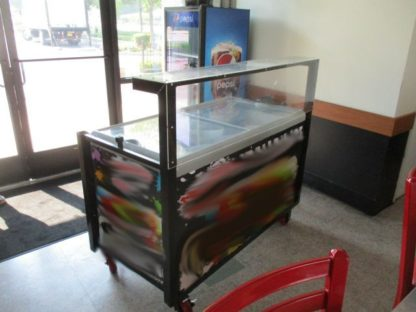 Italian Ice Freezer Cart