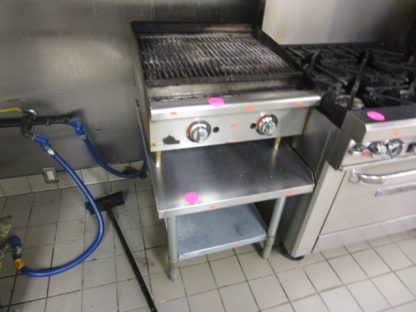 "Pitco Star 24"" Charbroiler, Gas, Countertop"