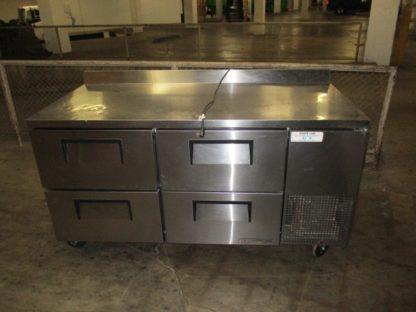 True 4 Drawer Worktop Refrigerator