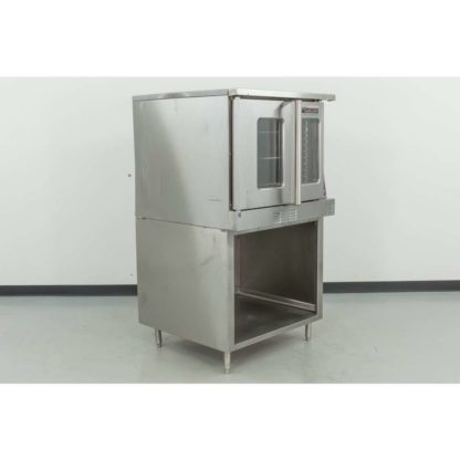 Reconditioned Garland MCO-GS-10 Single Deck Gas Convection Oven w/Stand