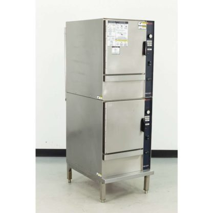 Reconditioned Groen SSB-5E SmartSteam100 Double Deck Electric Convection Steamer