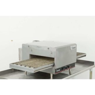 "Reconditioned Lincoln Impinger 1301-8 16"" Electric Conveyor Pizza Oven w/ 50"" Extended Conveyor"