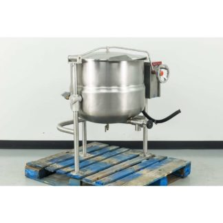 Reconditioned Market Forge DLT-40 40 Gal Direct Steam Jacketed Tilting Kettle