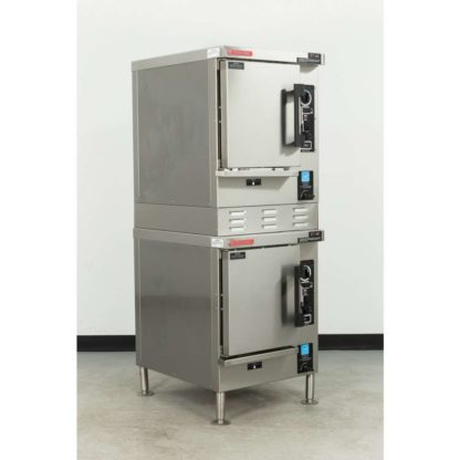 Reconditioned Market Forge Eco-Tech ET-6E Double Deck 12 Pan Electric Steamer