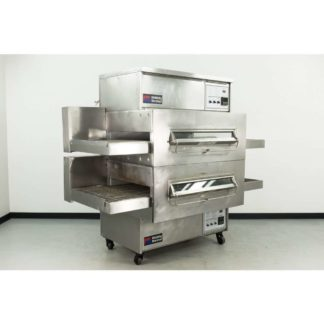 "Reconditioned Middleby Marshall PS360 32"" Double Deck Gas Conveyor Pizza Oven"