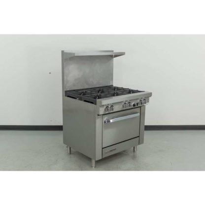 "Reconditioned Southbend S36D 36"" 6 Burner Gas Range, Standard Oven"