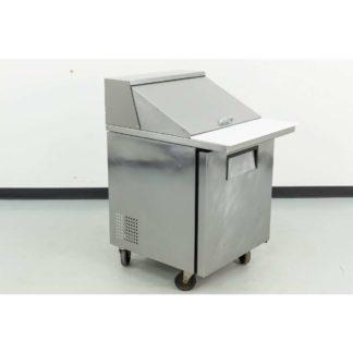 """Reconditioned True TSSU-27-12M-C 27"""" 1 Door Mega Top Refrigerated Sandwich Prep Table"""