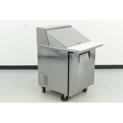 "Reconditioned True TSSU-27-12M-C 27"" 1 Door Mega Top Refrigerated Sandwich Prep Table"