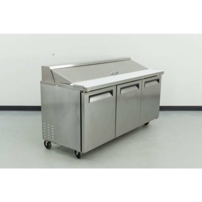 Reconditioned Turbo Air TSF-72SD 3-Solid Door Reach-In Freezer
