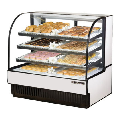 True Display Case, Non-Refrigrated Bakery Case