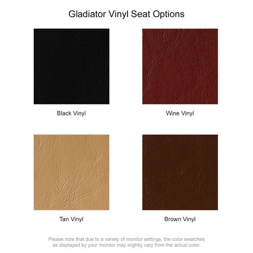 Gladiator Vinyl Seat Options