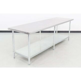 "96"" x 30"" Stainless Steel Work Table"