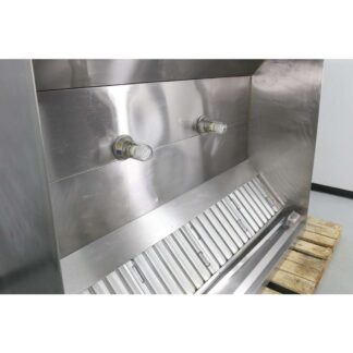 "Larkin SC 84"" x 66"" Stainless Steel Type I Exhaust Hood"