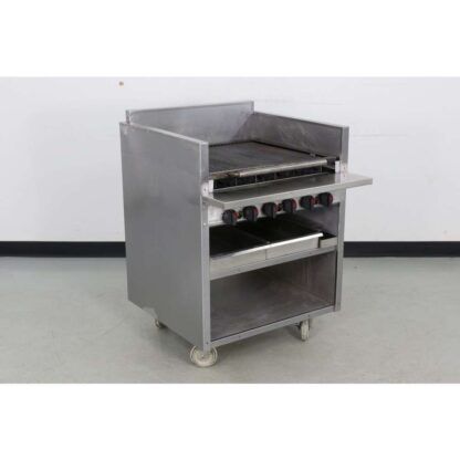 "Magikitch'n FM-RMB-630 30"" Floor Radiant Gas Charbroiler"
