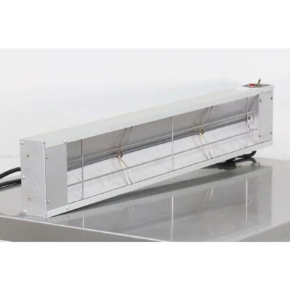 "Nemco 6150-36-CP 36"" 850 Watts Infrared Bar Strip Heater"