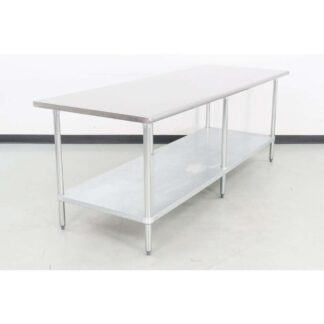 "Advance Tabco ELAG-368-X 96"" x 36"" Stainless Steel Work Table"
