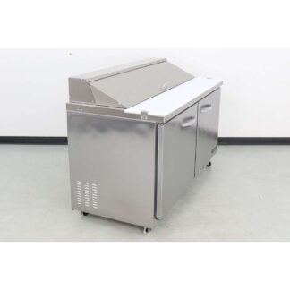 "SEAGATE SSP61 61"" 2 Door Refrigerated Sandwich Prep Table"
