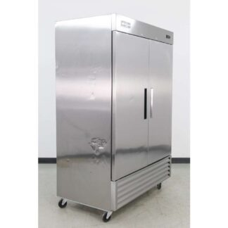 "Argus EDRF-49 54"" 2 Door Bottom Mounted Reach-In Freezer"