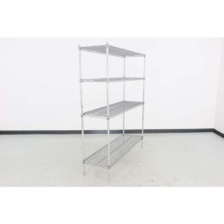 "Eagle Brand 18"" x 60"" Chrome Wire Shelf"