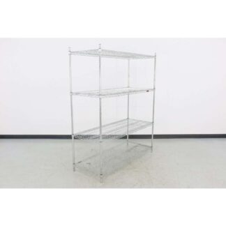 "Eagle Brand 24"" x 60"" Chrome Wire Shelf"