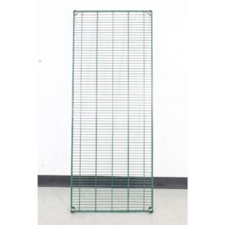 "Thunder Group CMEP2460 24"" x 60"" Green Epoxy Wire Shelving"