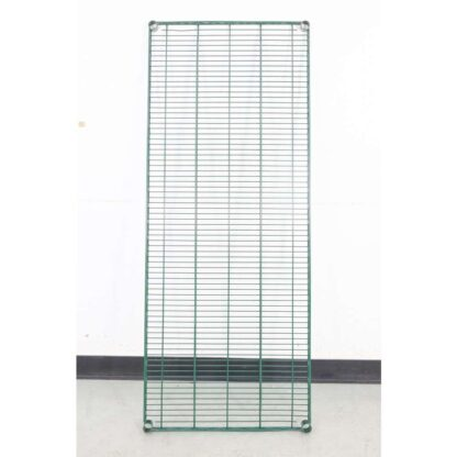 """Thunder Group CMEP2460 24"""" x 60"""" Green Epoxy Wire Shelving"""
