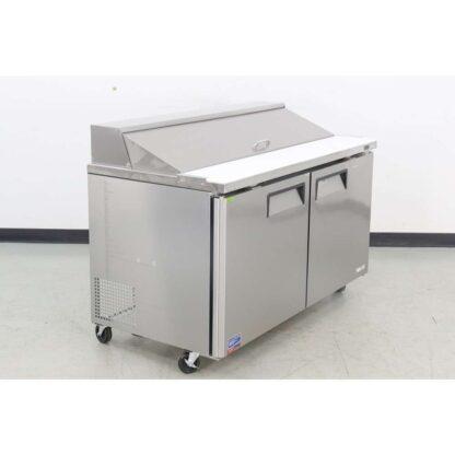 """Turbo Air MST-60-N 60"""" 2 Door Refrigerated Sandwich Prep Table"""
