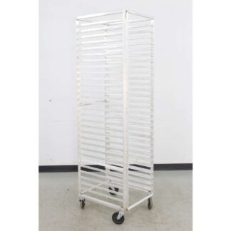 Aluminum 29 Full Size Mobile Bun Pan Rack