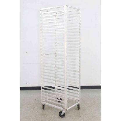 Aluminum 29 Full Size Mobile Bun Pan Rack