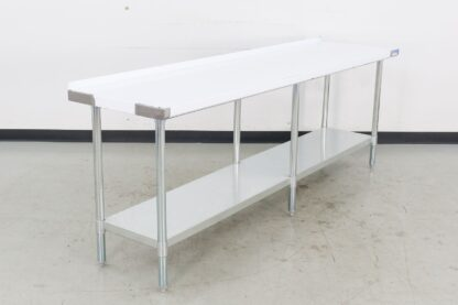 """BK Resources VTTR-9624 96"""" Stainless Steel Work Table"""