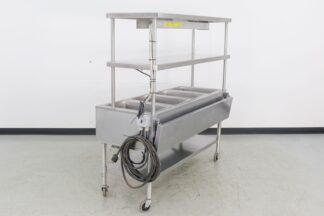 Eagle SPHT4-208 63 4-Well Electric Steam Table w Overshelves-