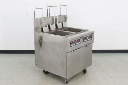 Frymaster MJ245FUBICSC Dual 45 Lb. Gas fryer
