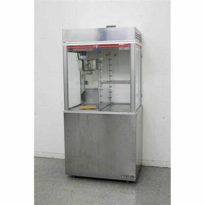 Gold Medal 1618ETS 16 Oz. Popcorn Machine & Display Warmer wCabinet-
