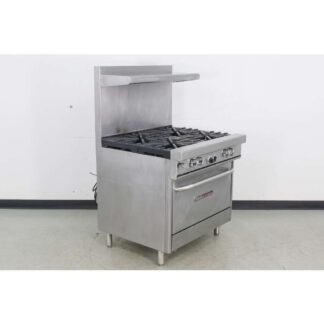 "Southbend 4367A 36"" 4 Burner Gas Range w/ Convection Oven"