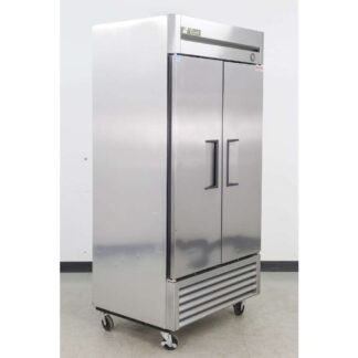 "True T-35 39"" 2 Solid Door Bottom Mounted Reach-In Refrigerator"