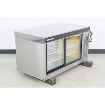 "Delfield 7048-P 48"" Pass-Thru Refrigerated Display Case"