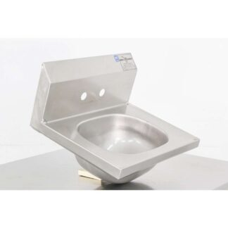 "Eagle 15"" x 19"" Stainless Steel Wall Mounted Sink"